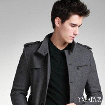男风衣_图时尚潮男冬装华丽展示几款帅气保暖的风衣推荐