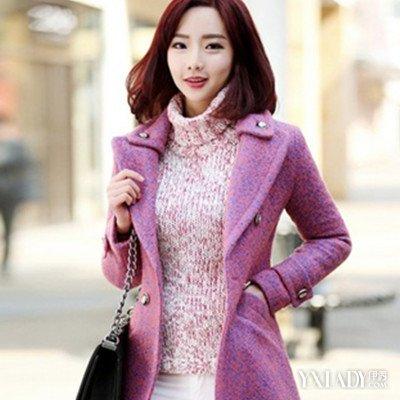 关于中长款毛呢西装外套如何搭配 不同的颜色展现不同的风格图片