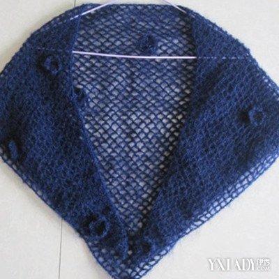 钩针编织披肩花样图解 几个步骤让你轻松钩织时尚披肩图片