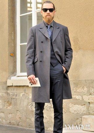 呢子大衣搭配男款 6种方法变身时尚潮男