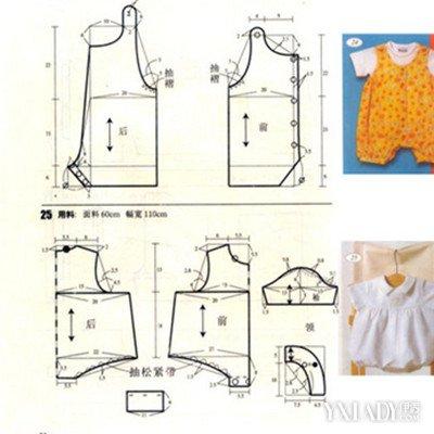 宝宝连体衣裁剪图纸展示 教你如何挑选适合宝宝的连体衣