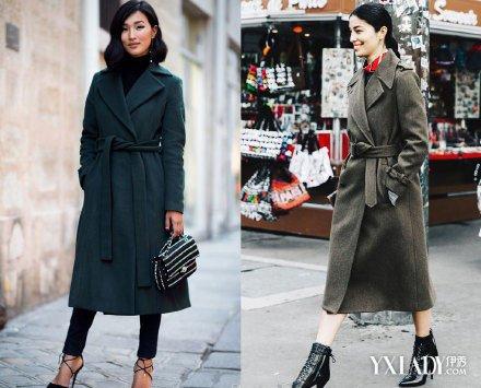 【图】毛呢大衣束腰设计提升腰线 带出慵懒时髦感