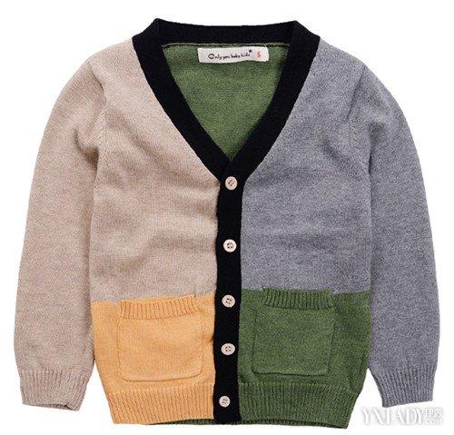 【图】小孩开衫毛衣编织教程