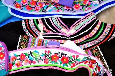 【图】欣赏好看的壮族服饰纹样 简单介绍美丽的壮族服饰