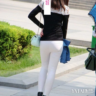 【图】白色紧身牛仔裤翘臀图片欣赏