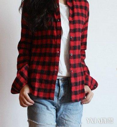 红黑格子衬衫女款如何搭配 盘点红黑格子衬衫搭配大全