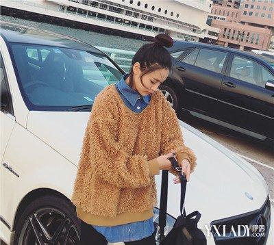 【图】韩版卫衣图片俏皮a图片够型宽松动漫最女孩女装手笔画图片女生大全简图片