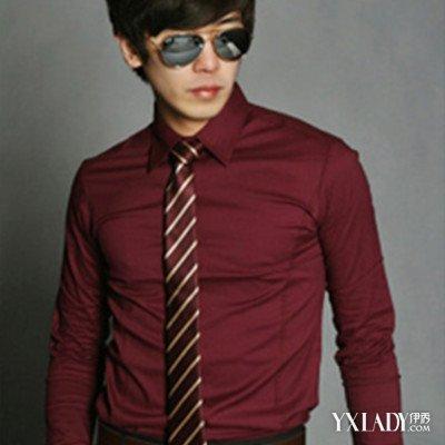 酒红色衬衫配什么颜色领带好 三种搭配技巧介绍