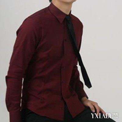 酒红色衬衣配什么领带 教你如何选购和洗涤的几个方法