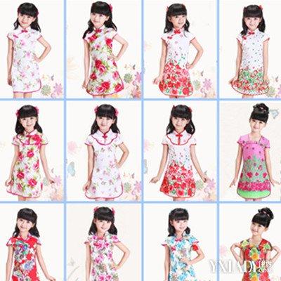【图】幼儿旗袍图片欣赏 多种儿童穿衣方法介绍让你宝宝更时尚