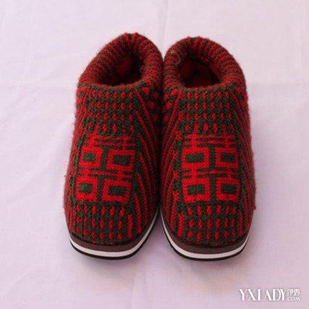 【图】分享毛线编织花样图解棉鞋