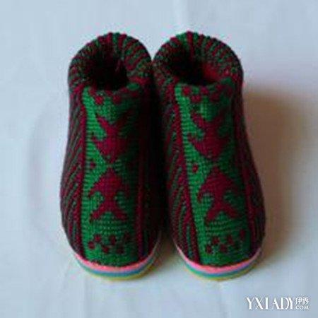 织花样图解棉鞋