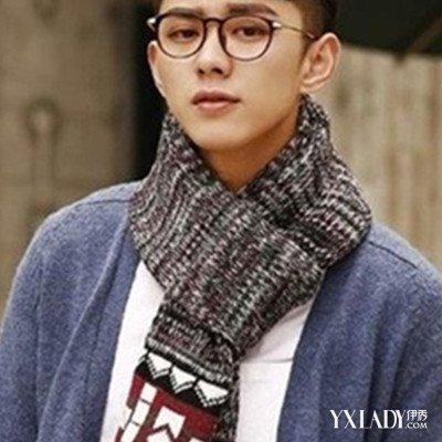 【图】男生围巾的各种围法图解大全