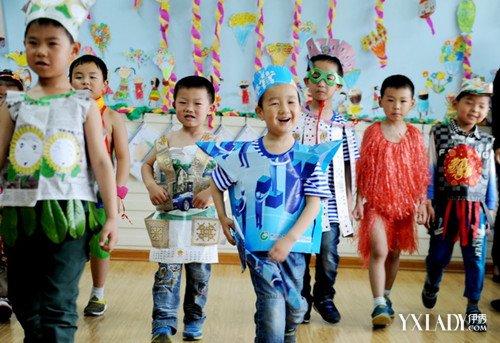 【图】男童亲子环保服装图片精选 如何自制环保儿童服装
