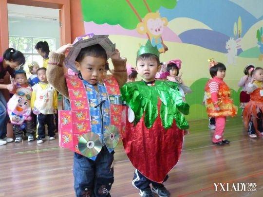 【图】多种男孩环保服装制作