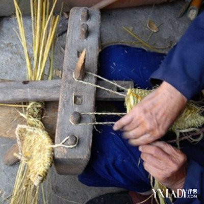 【图】民间草鞋怎么编 民间传统技艺手编草鞋工具和步骤