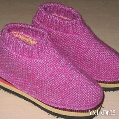 【图】打毛线拖鞋图片欣赏