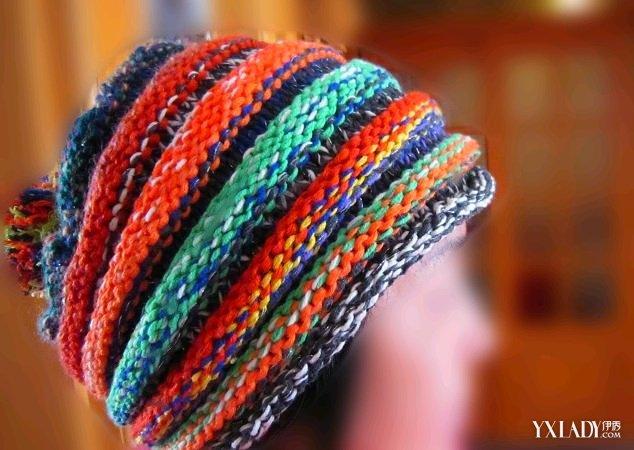 时尚手工编织帽子方法 冬天来了自制一顶帽子吧