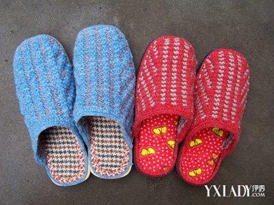 【图】毛线拖鞋编织花样