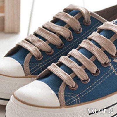 【图】双鞋带的系法图解大全 九招教你轻松系出时尚鞋带图片
