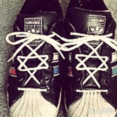 盘点系鞋带五角星方法图解 七招教你轻松系出时尚鞋带图片