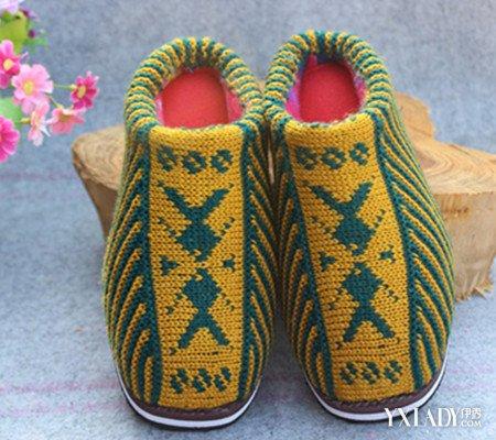 【图】毛线棉拖鞋图案大全欣赏