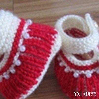 棒针编织宝宝鞋