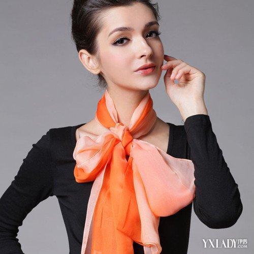 【图】揭秘方巾的十五种打法 教你做时尚达人