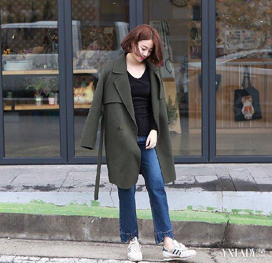【图】小个子高个女生搭配出冬装感长腿也可想怎么办演员女生当图片