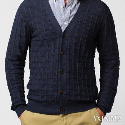 【图】男士毛衣编织花样图解展示