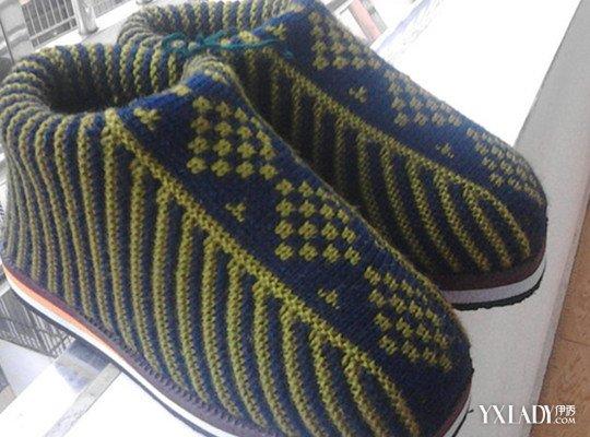【图】毛线棉鞋编织花样图解大全