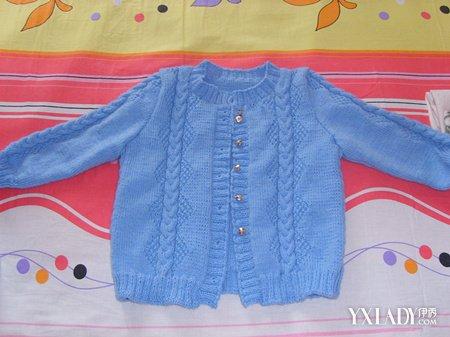 【图】解密从上往下织宝宝开衫 5步教你织好宝