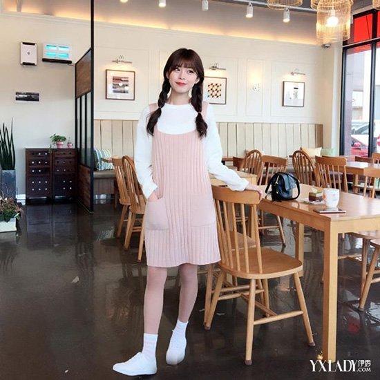 【图】a活力活力粉嫩女生装扮俏皮可爱显色彩鞋阿迪小白女生图片