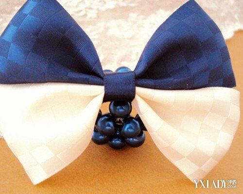 发夹的做法是什么?小编来教大家一个简单的制作蝴蝶结发夹的步骤.