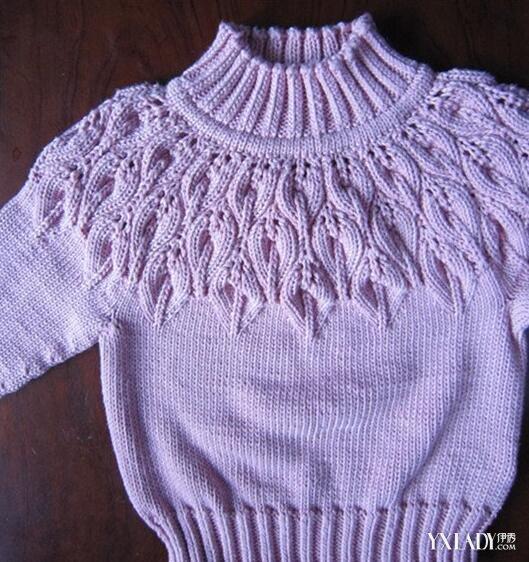 【图】叶子花毛衣编织方法