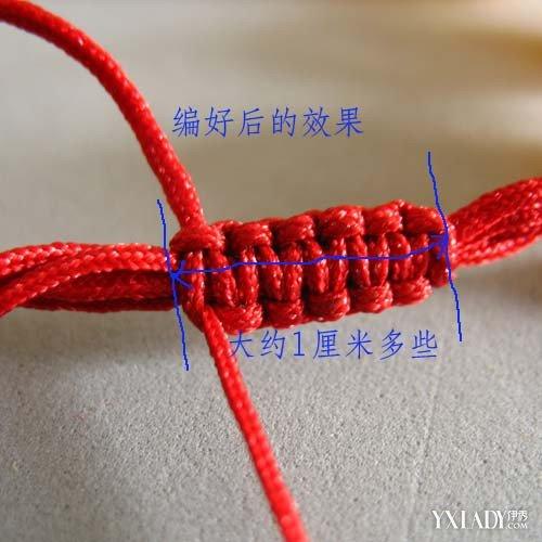 【图】红绳项链扣的编法图解 简单几步教你编出漂亮活扣