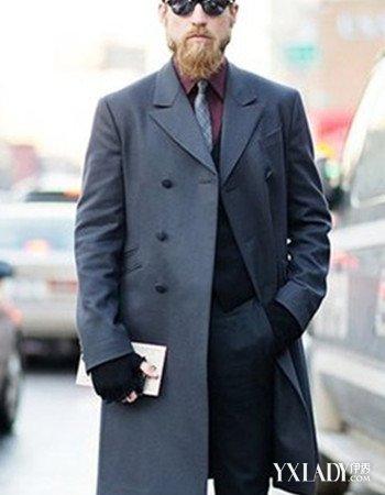 男冬装搭配图片展示 打造最有型的硬朗男人范图片
