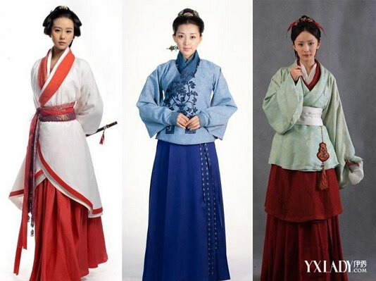 【图】古代裙子的种类介绍 揭秘中国古代女子穿裙子的图片