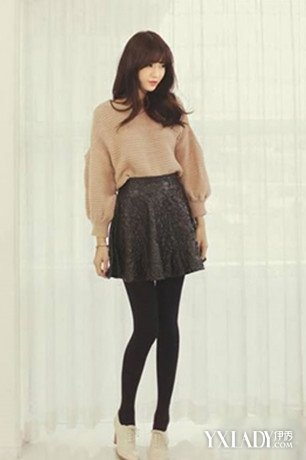 冬天穿短裙搭配什么鞋子好看教你冬天短裙怎么穿
