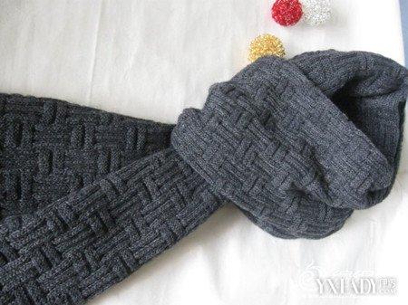 男生围巾织法图片展示 介绍3种简单的围巾织法