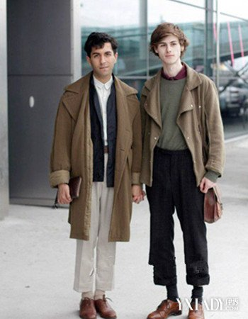 【图】男士棕色布洛克鞋搭配展示 正式休闲它都赢图片