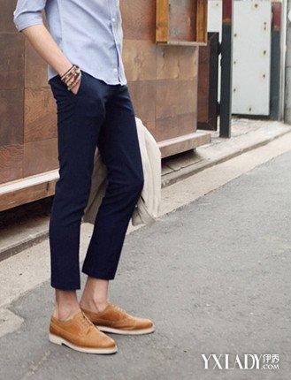 【图】深蓝色牛仔裤配什么颜色的鞋子好? 六条