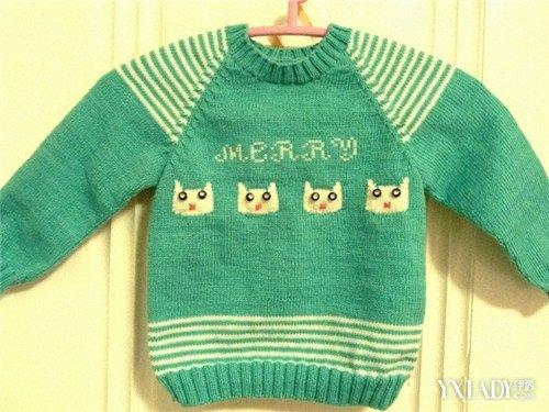 【图】教你婴幼儿开衫毛衣编织图案 让你的宝宝紧跟潮流