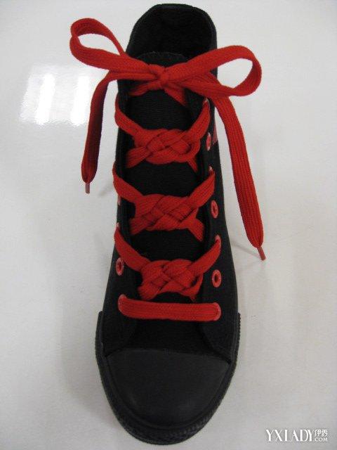 【图】花样鞋带心形系法怎么系 创意系法系出你个性图片