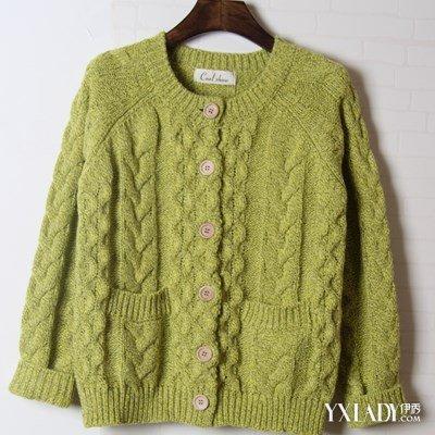 【图】开衫毛衣领子编织方法