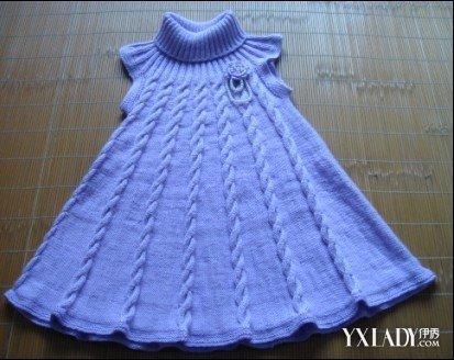 【图】女童毛衣裙编织款式展示 8步教你织出漂亮裙子