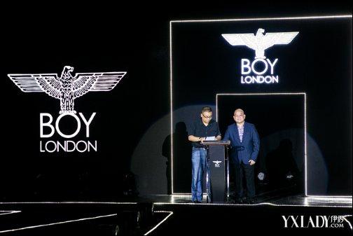 boy london的设计风格以朋克街头风格理念挑战传统的服饰行业
