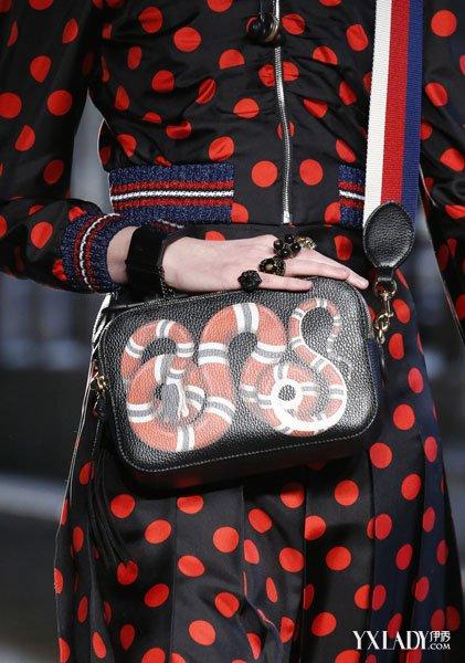 Gucci包时尚2017 细节之处让人怦然心动