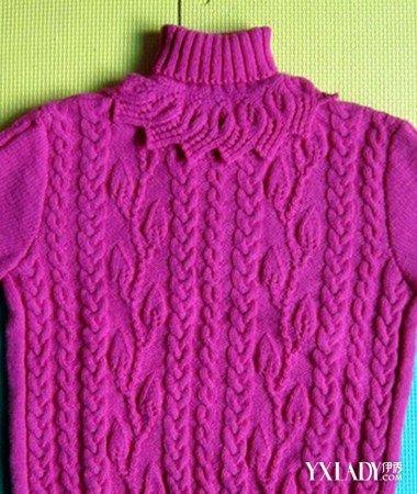 編織毛衣袖子怎么拼接身子圖片