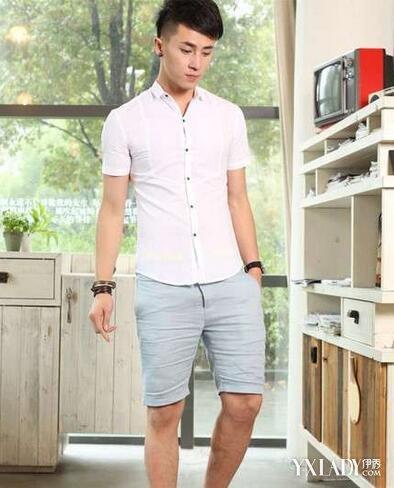 男士白衬衫配什么裤子好看 推荐三款白衬衫与裤子的时尚搭配